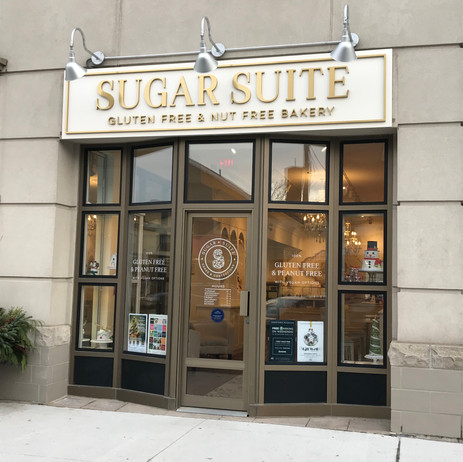 Sugar Suite Exterior Sign