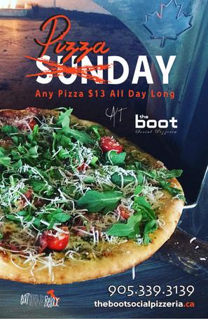 Pizza Sunday!