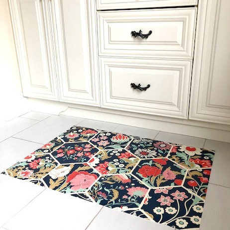 Custom Bathroom Floor Mat