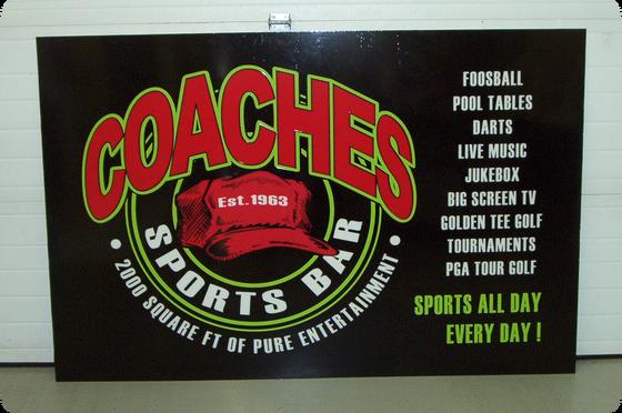 Coaches Sports Bar