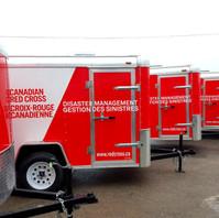 Red Cross Fleet Trailers