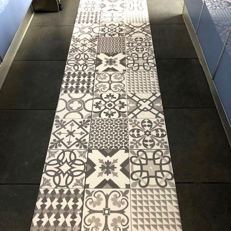 Custom Kitchen Floor Tile