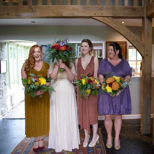 alternative bridal party funny - Galway wedding photographer