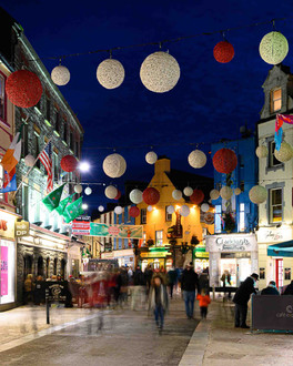 shop street galway shopping - Galway commercial photographer