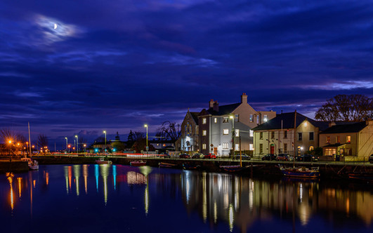Claddagh by moonlight - Galway Commercial Photogrpaher