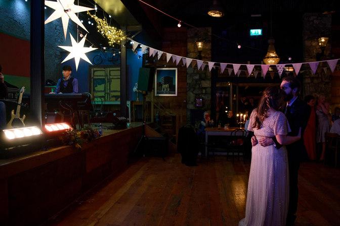 bride and groom dancing - Galway wedding photographer