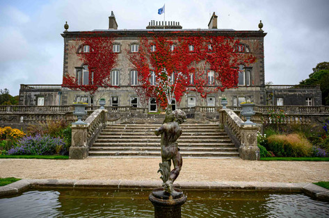 westport house in the autumn - Galway Commercial Photogrpaher