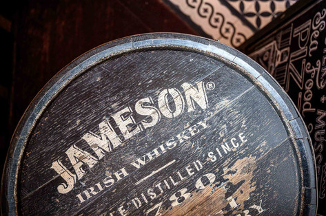 jameson whiskey cask - Galway Commercial Photogrpaher