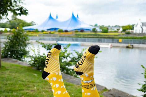 Galway International Arts festival socks - Galway Commercial Photographer