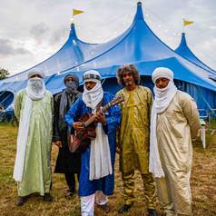 Tinariwen at the heineken big top giaf - Galway event photographer