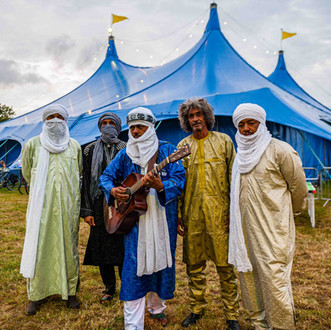 Tinariwen at the heineken big top giaf - Galway event photographer