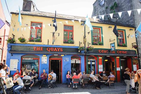 The Quays Bar Galway, Summer - Galway PR Photographer