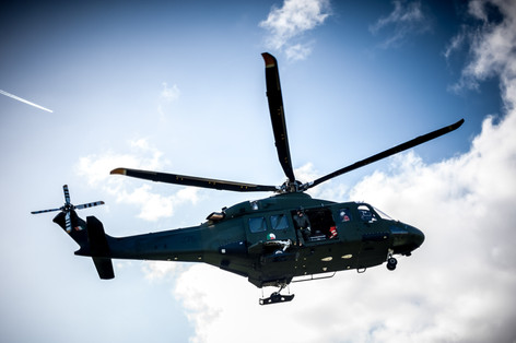 Irish air corps taking off at UHG - Galway Commercial Photogrpaher