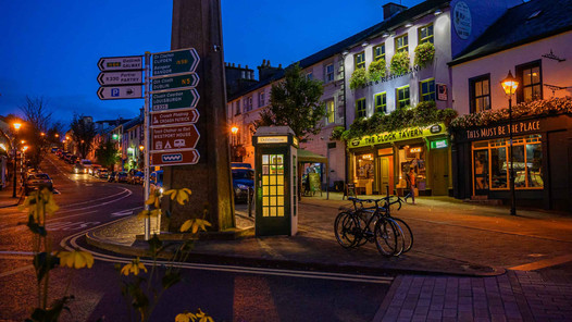 Westport square mayo - Galway Commercial Photogrpaher