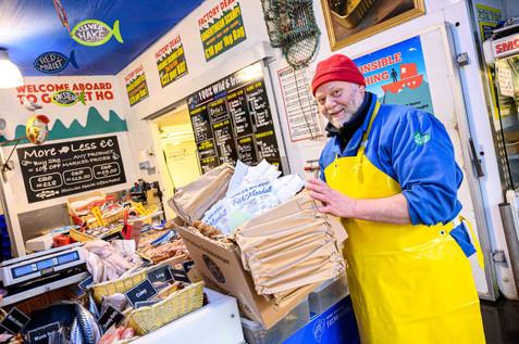 Gannet Fishmongers Galway - Galway PR Photographer