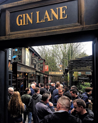 Gin Lane - O Connells Bar - Galway PR photographer