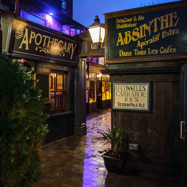 gin lane at o connells bar - Galway Commercial Photogrpaher