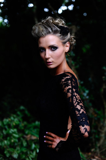 Galway portrait photographer - dark model