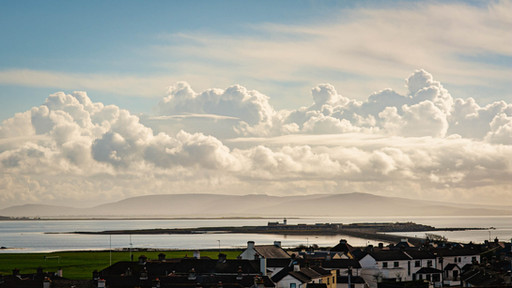 looking out towards mutton island from galway city - Galway Commercial Photogrpaher