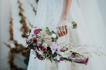 bridal flowers - Galway wedding photograper