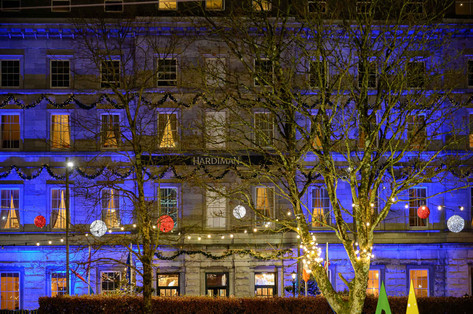 The hardiman hotel at christmas - Galway Commercial Photogrpaher
