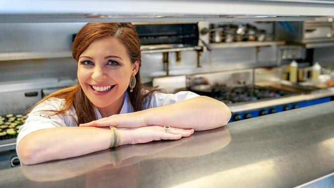 Celebrity chef Catherine Fulvio - Galway PR Photographer