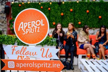 Aperol Spritz garden launch - Galway event photographer