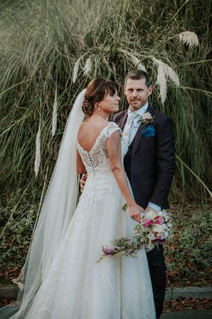 bride and groom portrait - Galway wedding photograper
