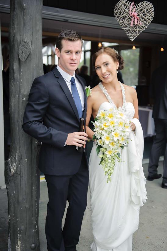 wedding under a heart - Galway wedding photograper