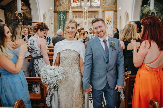 tredny brid and groom - Galway wedding photograper