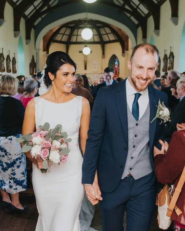 modern bride and groom portrait 0 Galway wedding photograper