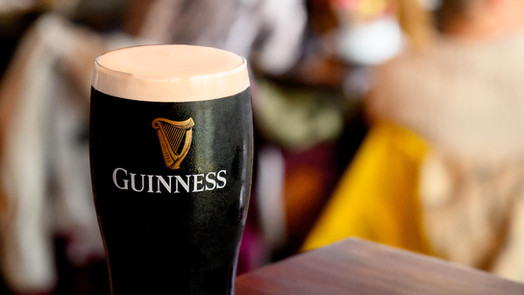 The perfect pint to guinness - Galway PR photographer