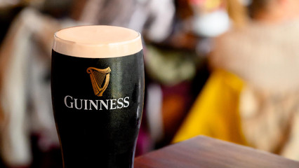 Perfect pint of Guinness