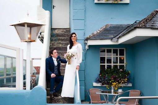 moder bride and goom barna - Galway wedding photographer