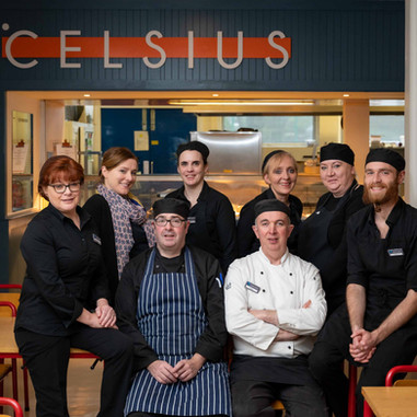 Celsius restraunt staff - Thermo King - Galway PR Photographer