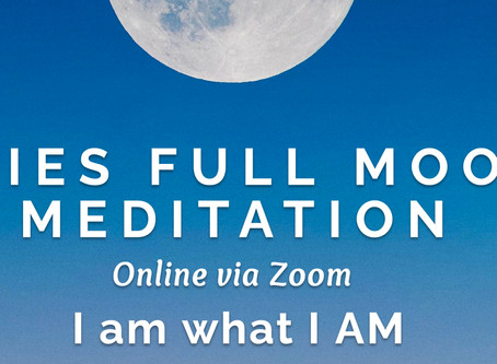 Aries Full Moon Meditation
