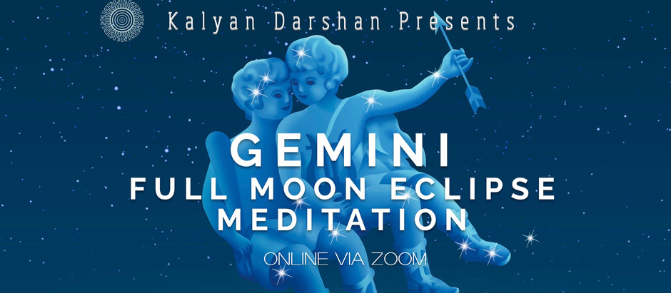 Gemini Full Moon Lunar Eclipse Meditation and Practice in the Park
