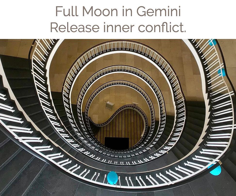 Full Moon In Gemini Release inner confli