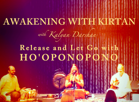 Release and Let Go with Ho'oponopono