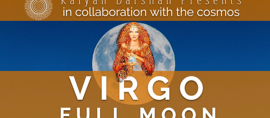 Lighten your Load with the Virgo Full Moon!
