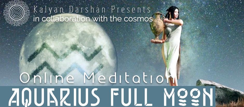 The Aquarius Full Moon invites us to practice being Quantum