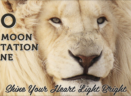 Shine your Heart Light Bright with the Leo's New Moon!