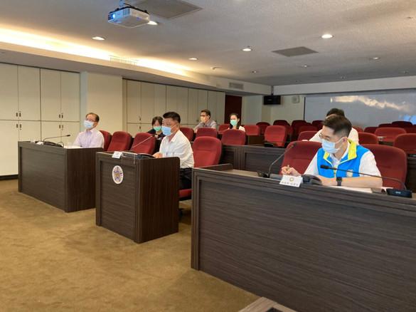 110.7.20李董事長主持基金會7月工作月報線上會議,會務推展運行無虞