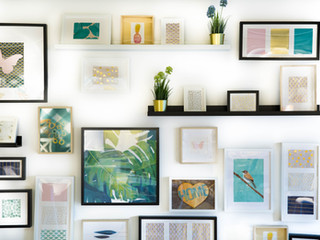 6 Ways To Incorporate Your Children's Art Into Your Home Décor