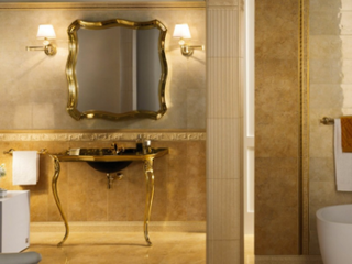 Gold in the Bathroom, Passé or Ahead of the Times?