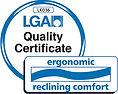 LGA engonomic recling comfort
