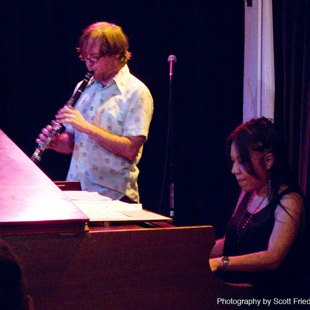 Mike Mcginnis@West Beth Duo Festival