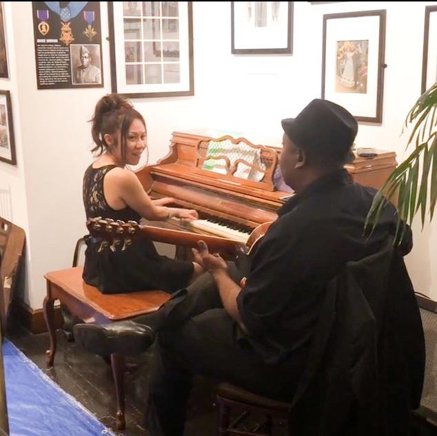 Duo with Ron Jackson(7-strings gr)@Society Illustlators