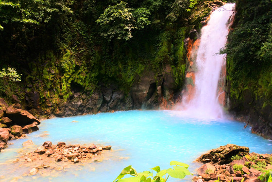 The Must See Rio Celeste Waterfall