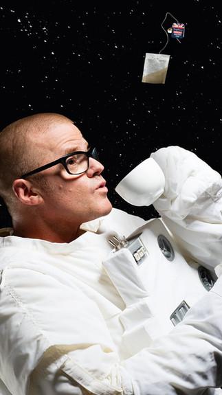 HESTON'S DINNER IN SPACE